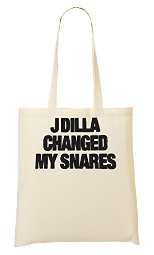 J Dilla Changed My Snares Tragetasche Einkaufstasche