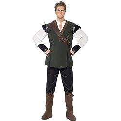 Smiffys (SM29076-L) - Disfraz arquero para hombre, talla L