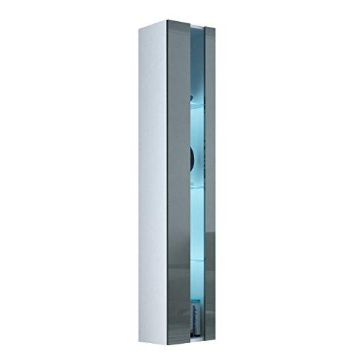 Hochglanz Highboard Grau PreisSuchmaschinede - Hochschrank wohnzimmer