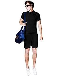 Slazenger Short tissé pour homme Taille élastique d'entraînement, Sport, Fitness
