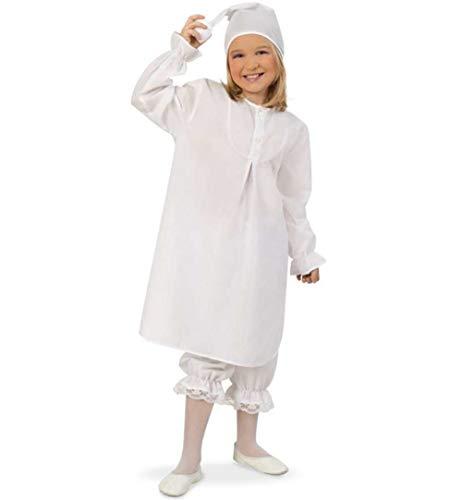 KarnevalsTeufel Kostüm - Set Schlafmütze für Kinder | 3-TLG. Nachthemd, Schlafhose und Mütze | Träumer, Traumwandler, Karneval (164) (Nachthemd Und Mütze)