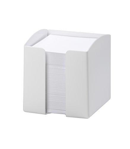 Durable Vivid Zettelkasten Kunststoff für Notizzettel 90 x 90 mm weiß