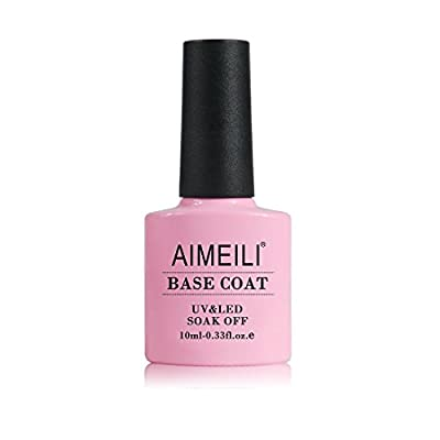 AIMEILI Soak Off UV LED Gel Nail Polish - Base Coat 10ml