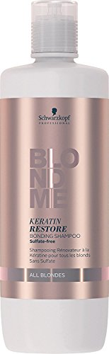Schwarzkopf Professional BlondMe Keratin Restore Shampoo, 1er Pack (1 x 1 l)