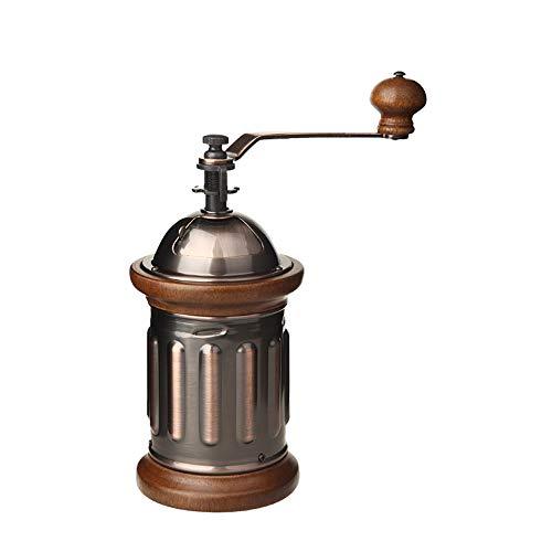 HY- small household appliances Manuelle Kaffeemühle/Kaffeemühle für Zuhause, kleine Handmühle, Retro-Mühle, 90 x 190 x 130 mm