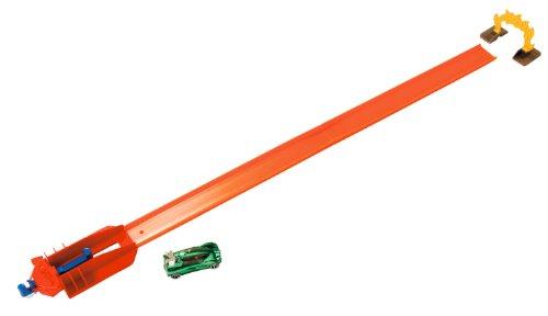 Hot Wheels - W5369 - Véhicule Miniature - Circuit - Piste Adrénaline - Super Lanceur