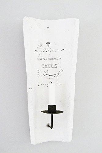 Wandkerzenhalter 'French' Unikat handmade Wandleuchter Kerzenhalter