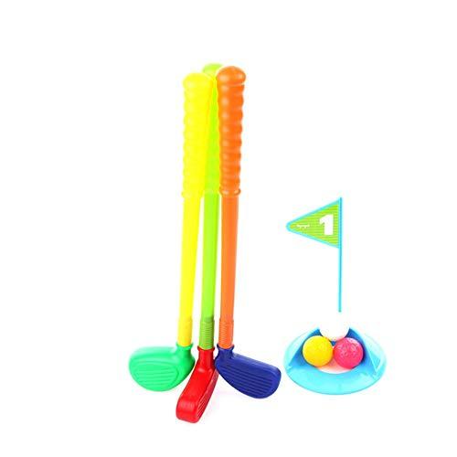 Bestlle Golfschläger-Set Easy Hit Glof Set Spielzeug für drinnen und draußen