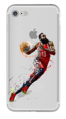 Art Design Hülle für iPhone 6 / iPhone 6S James Harden 13 Rockets de Houston Basketball NBA Soft Silikon