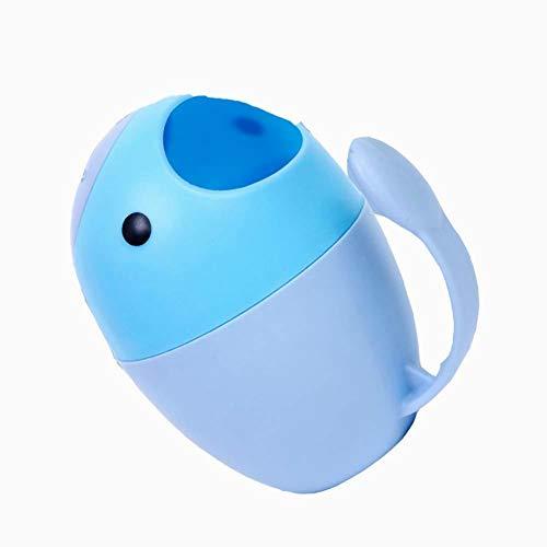 xiton niedlich Wasserfall Rinser Bad Dusche Cup für Kinder-blau
