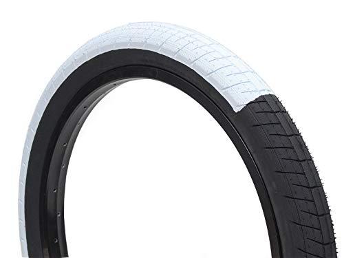 SALTPLUS Sting Split Color BMX Reifen | weiß/schwarz | 2.40