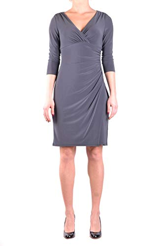 Ralph Lauren Luxury Fashion Damen MCBI33545 Grau Kleid | Jahreszeit Outlet