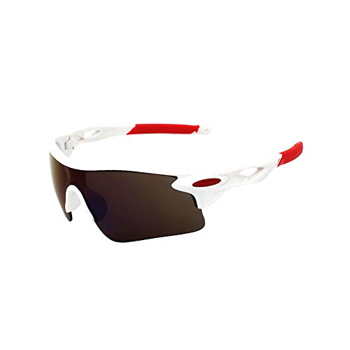 Sonnenbrillen Polarisierte Männer UV-Schutz Fliegerbrille Coole Brille Sonnenbrille Herren Clip Sunglasses Verspiegelt Outdoor Reiten Sport Fahren Tourismus Weißem Rahmen Blau Film Linse