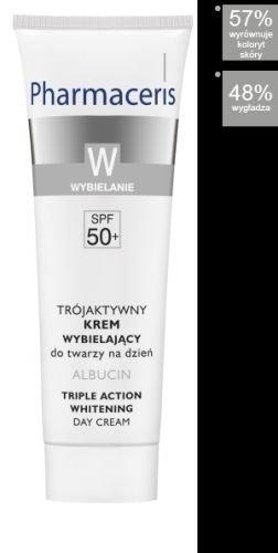 Pharmaceris W - ALBUCIN aufhellende Creme bei Pigmentstörungen SPF 50 (30 ml)