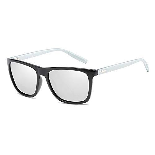 LAMAMAG Sonnenbrille Polaroid Sonnenbrille Unisex Platz Vintage Sonnenbrille Sunglases polarisierte Sonnenbrille für Frauen männer, l