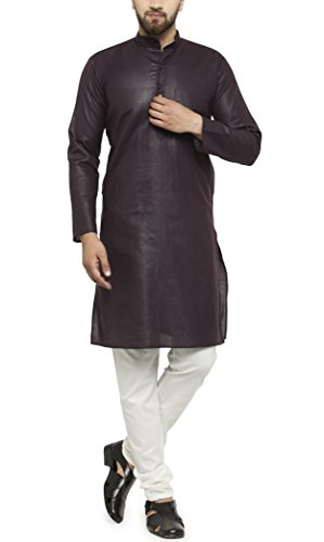 4. Ben Martin Rich Cotton Blend Kurta Pyjama For Men