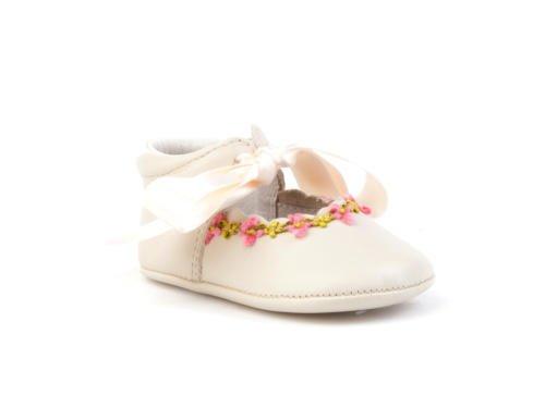 ANGELITOS , Chaussures souples pour bébé (fille) Beige