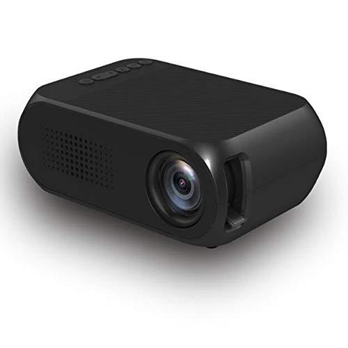 YRYH Videoprojektor LED 80 Zoll tragbare Anzeige Multimedia /30000 Stunden HD 1080 P HDMI TF AV USB Laptop TV Box Telefon/Heimkino Unterhaltung No Noise Version Projektor,Black - Big-screen-sony-smart-tv