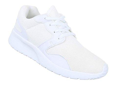 Damen Freizeitschuhe Schuhe Runner Sportschuhe Low-top Sneakers Schnürer Schwarz 36 37 38 39 40 41 Weiß