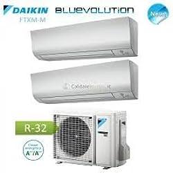 Climatiseur Dual Split Inverter Daikin 9000+ 9000Btu/h série M Gaz R32à + + +