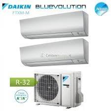 DUAL SPLIT INVERTER DAIKIN 9000 + 9000 BTU/h M Gas R32 A+++