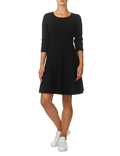 jessica-simpson-womens-womens-black-skater-dress-in-size-m-black