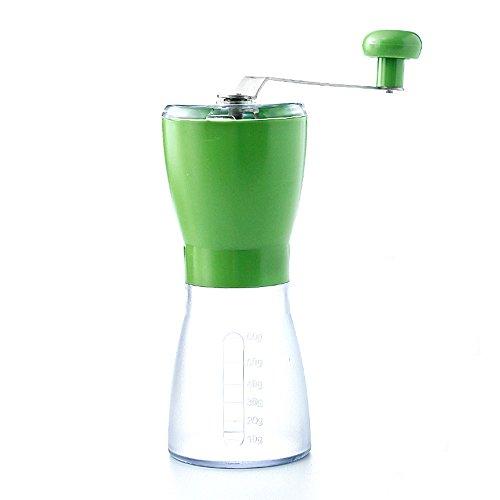 Moulin de sésame de riz / grinder manuel de grain de café / grinder de main (3 couleurs facultatives) (7.5 * 17.5cm) ( couleur : B )