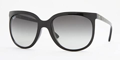 Ray-Ban CATS 1000 Cateye Sunglasses in Black 57 Crystal