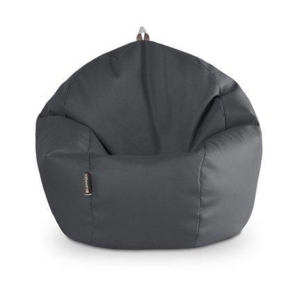 Puff Pelota 60cm diámetro (Gris)