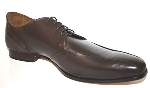 Manz 176067-03 Herren Schuhe Halbschuhe Schnürhalbschuhe, Schwarz (001), EU 51 / UK 15 Braun