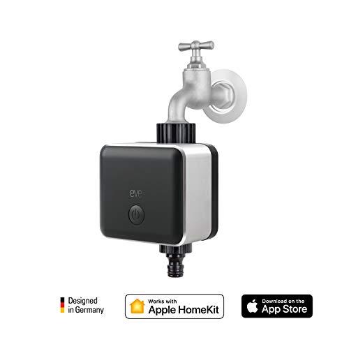 Eve aqua - Smarte Bewässerungssteuerung, Bewässerungstimer, Fernzugriff, Kindersicherung, Keine Bridge erforderlich (Apple Homekit) -