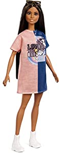 Barbie Fashionista - Muñeca morena pelo largo (Mattel FXL43)