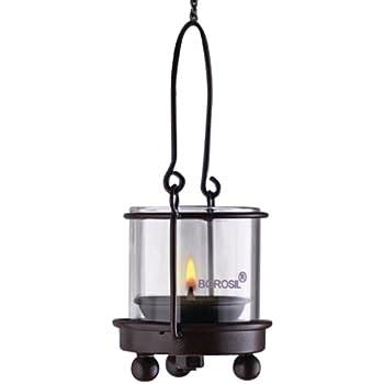 Borosil Hanging Diya Lights (Small, Set of 2)