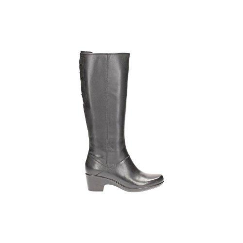 Clarks Women's Malia Skylar Black Boots - 4 UK/India (37 EU)