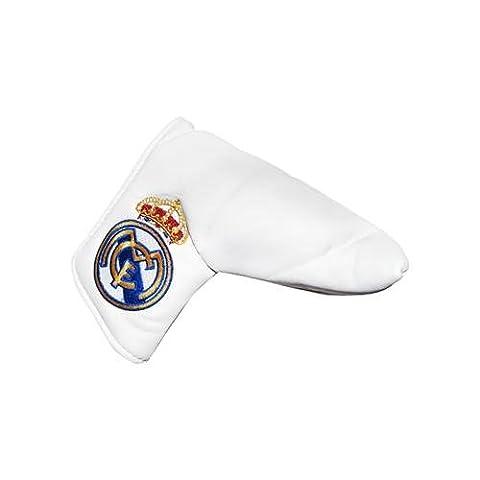 Real Madrid F.C. blade puttercover & Wasserbasis, für Klinge puttercover- mit herausnehmbarer, mit Klettband, für OHP opening- ca. 17 cm x 15 cm x 6 cm, im blister Offizielles Fußball-Aufstellfunktion Merchandising-Produkt
