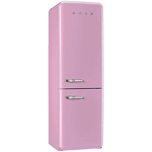 Smeg FAB32RNP Fridge Freezer 50's Retro Style Right Hand Hinged Pink
