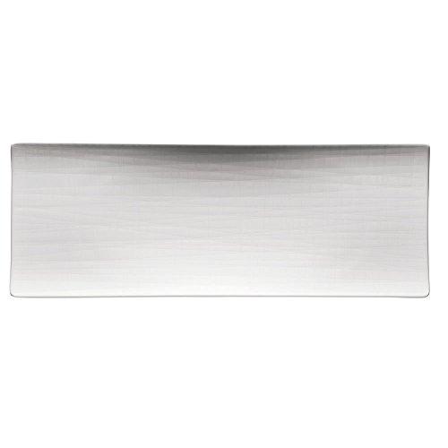 Rosenthal 11770-800001-12384 Mesh Platte, flach 34 x 13 cm, weiß
