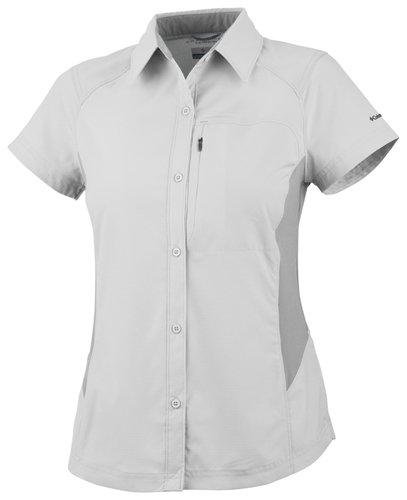 funktionsbluse damen kurzarm Columbia Damen Silver Ridge Short Sleeve Shirt 3XL weiß