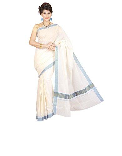 Maxis Kerala Cotton Handloom Saree