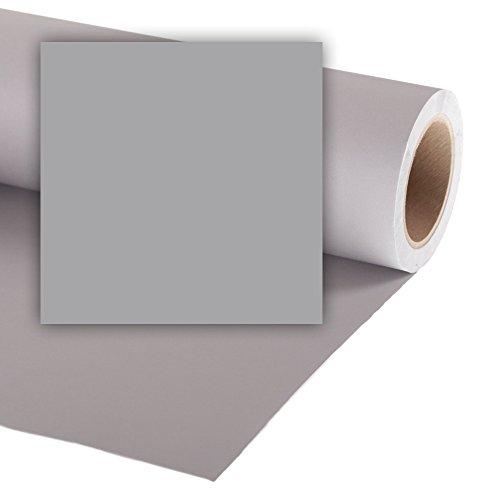 Colorama Hintergrund aus Papier 1.35x 11m Storm Grey