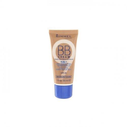 Rimmel BB Cream 9-in-1 Skin Perfection - Medium/Dark 30ml (Bb Cream Rimmel)