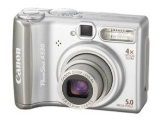 Canon PowerShot A530 Digitalkamera (5 MP) 5 Megapixel Canon Powershot