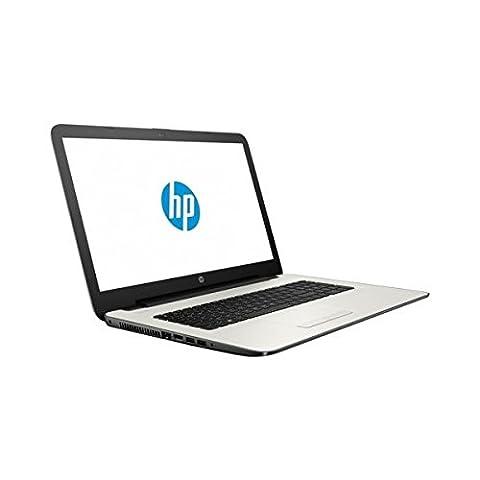 HP 17-y022nf AMD Quad Core A6 7310 4GB 1000GB 17,3 DVD-RW Windows 10 Portable Produit FR Radeon R4