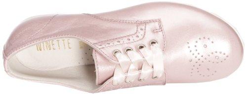 Ninette en Fleur Emotion, Chaussures à lacets fille Rose (Emotion rosa)