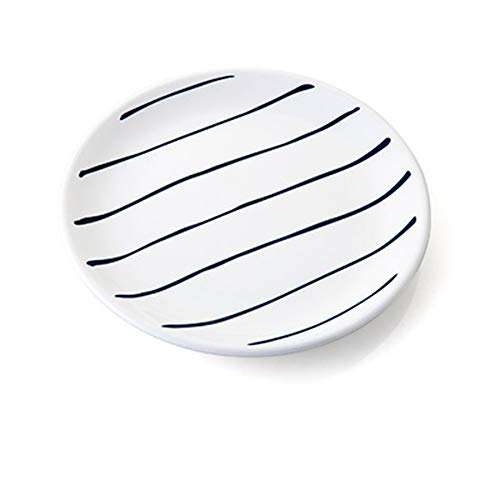 LI plaque- Céramique Western Plate Petit-déjeuner continental Cake Dish Plate tableware (Couleur : C)