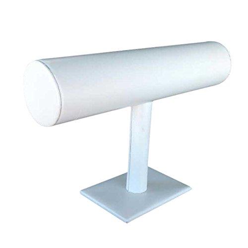 Gleader espositore display porta bracciali braccialetti bianco