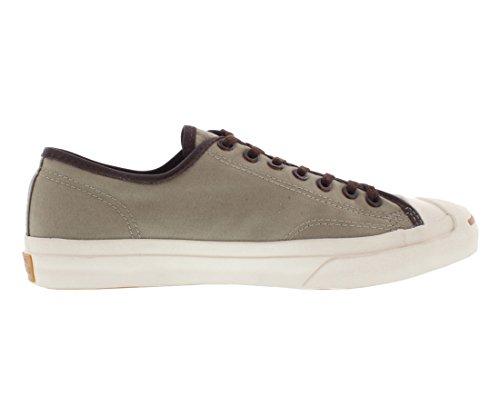Converse Jp Jack Ox Canvas, Chaussures de Gymnastique Mixte Adulte, 40 45 EU Argenté ancien