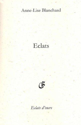 En ligne Eclats pdf