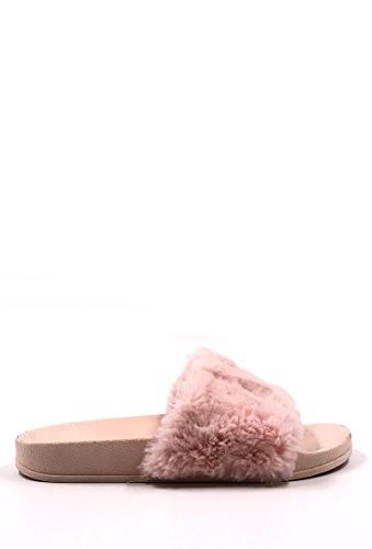 CHIC NANA . Chaussure Femme Mode Sandale Mule Plate Fourrure.
