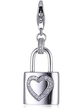 Esprit Anhänger CHARM LOVE LOCKER 925 Sterling Silber S.ESZZ90769A000